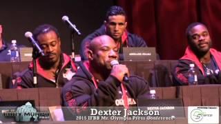getlinkyoutube.com-Dexter Jackson at the 2015 IFBB Mr O Press Conference