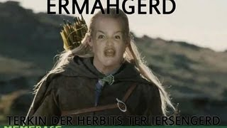 Funny Lord of the Rings compilation