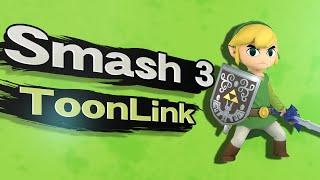 getlinkyoutube.com-Smash 3 Toon Link Trailer