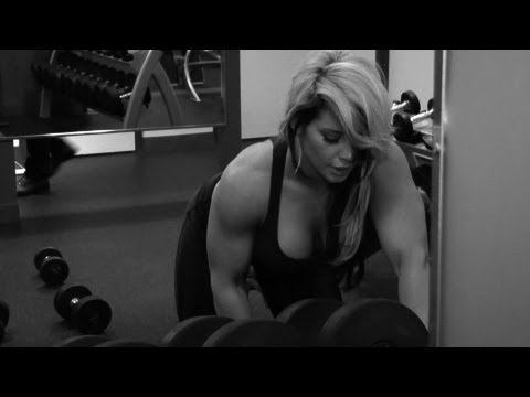 WWE Kaitlyn's Passionate And Revealing Workout Video @WWE @KaitlynWWE