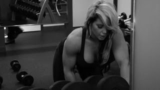 getlinkyoutube.com-Kaitlyn's passionate and revealing workout video