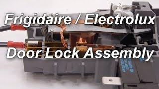 getlinkyoutube.com-Frigidaire / Electrolux Front Load Washer Not Spinning - Door Lock Assembly