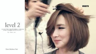 getlinkyoutube.com-[Hair Turorial] 2012 Hair Trend - Glam Medium Hair 풍성한 느낌의 단발머리 스타일