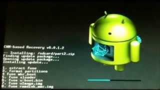 getlinkyoutube.com-Formatear a Fabrica La Tablet A1-07 ideapad | LENOVO ROM