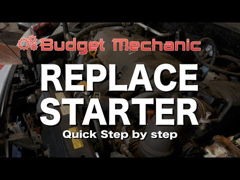 Replace the Starter on a Toyota Echo Yaris