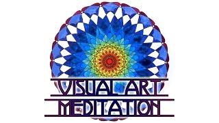 getlinkyoutube.com-Visual Art Meditation: Sacred Geometry Mandala Painting