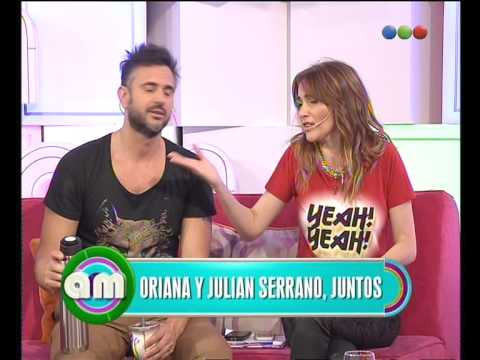 Oriana confirmó su romance con Julián Serrano - AM