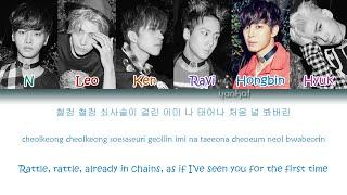 getlinkyoutube.com-VIXX - Chained Up (사슬) (Color Coded Han Rom Eng Lyrics)   by YankaT