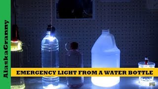 getlinkyoutube.com-Emergency Light From A Water Bottle