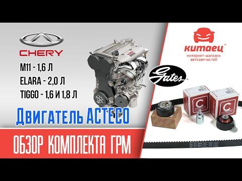 Обзор комплекта ГРМ двигатель ACTECO | kitaec.ua