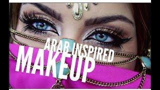 getlinkyoutube.com-Arab inspired makeup tutorial