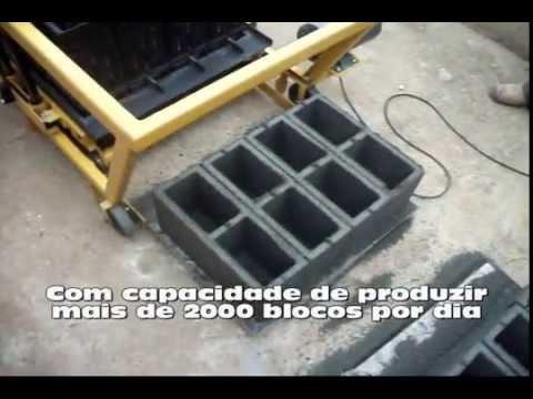 Máquina de blocos poedeira USIMAK