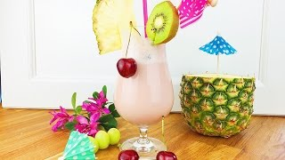 getlinkyoutube.com-Coconut Kiss Cocktail / Alkoholfrei
