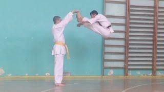 getlinkyoutube.com-Tricks - Трюки - Karate / Sash Nalbandyan / Sensey. Armen Aloyan
