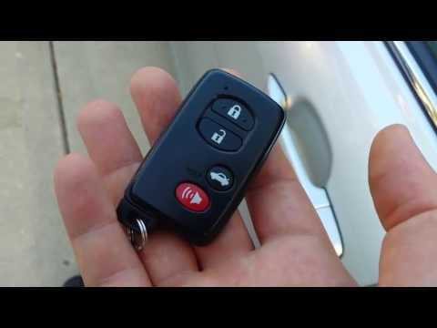Car Won't Start How to Start a Toyota with Push Button start that has a dead smart key battery Camry