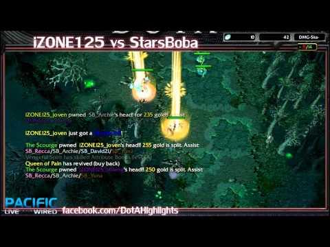 DotAHL 170 - [GEST] iZONE125 vs StarsBoba