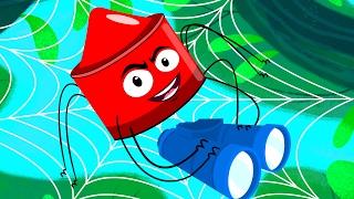 getlinkyoutube.com-Incy Wincy Spider | Nursery Rhymes Crayons | Baby Rhymes | Kids Songs | Childrens Videos