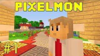 getlinkyoutube.com-Pixelmon - Learning The Basics - Part 1