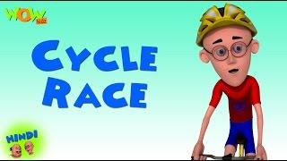 getlinkyoutube.com-Cycle Race  - Motu Patlu in Hindi