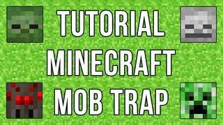 getlinkyoutube.com-Minecraft: Tutorial Mob Trap / XP Farm