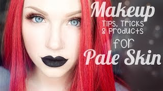 getlinkyoutube.com-Top 25 Makeup Tips, Tricks & Products for Pale Skin