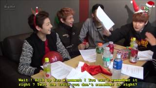 getlinkyoutube.com-{ENG SUB} [BTS 꿀 FM 06.13] The very happy Christmas with BTS! (1/2)