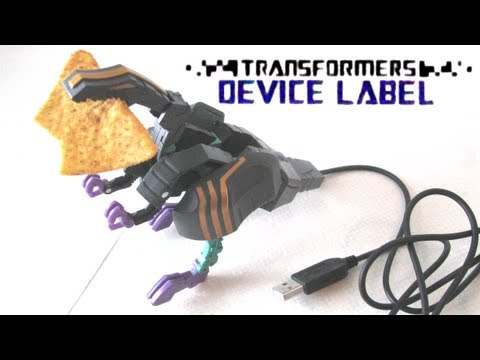 Transformers Device Label: Trypticon [Video Review] [NL/Dutch]
