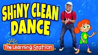 getlinkyoutube.com-Brain Breaks ♫ Action Songs for Children ♫ Shiny Clean Dance ♫ Kids Songs by The Learning Station