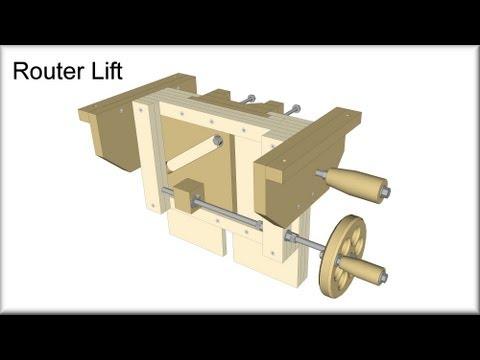 Router Lift Plans