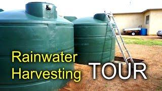 getlinkyoutube.com-Rainwater Harvesting - Home System Tour