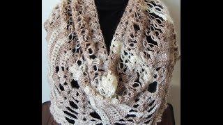 getlinkyoutube.com-Crochet : Bufanda - Chal.  Parte 1 de 3