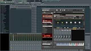 getlinkyoutube.com-Routing Kontakt in FL Studio