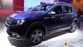 getlinkyoutube.com-2017 Dacia Sandero Stepway - Exterior and Interior Walkaround - Debut at 2016 Paris Motor Show