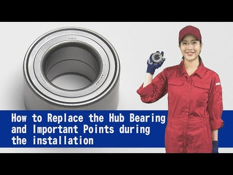 How to replace wheel hub bearings + useful tips featuring NSK first-gen HUBs