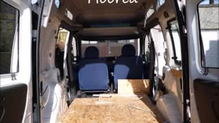 How to convert a Fiat Doblo car into a campervan