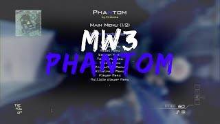 getlinkyoutube.com-Phantom MW3 RTM Mod Menu 1.24 + Download