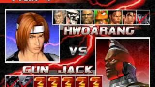 getlinkyoutube.com-Tekken 3: 8 V 8 Team Battle Game Play