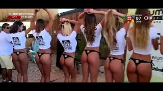 getlinkyoutube.com-Estas son las candidatas a Miss Reef 2016 - La Mañana de CHV