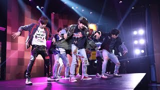 BTS Takes The Stage With Fake 'Love'