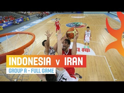 Indonesia v Iran - Full Game Group A - 2014 FIBA Asia Cup