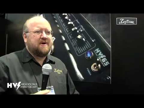 Robert Egnacheski - 2009 NAMM - Kustom Amplification HV Series (High Voltage)
