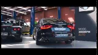getlinkyoutube.com-Audi A4 2.0T S-Line equipped with Armytrix Turbo-Back Exhaust, sound and power!