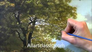 getlinkyoutube.com-Surface Cracking on Oil Painting-Special Effects