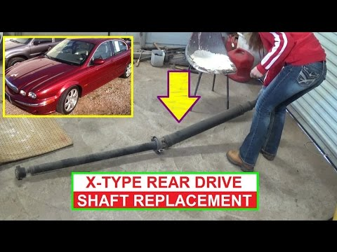 Jaguar X-TYPE Rear Drive Shaft Remval and Replacement How to Remove Rear Driveshaft