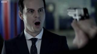 getlinkyoutube.com-Confronting Moriarty - Sherlock - BBC