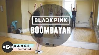 "getlinkyoutube.com-BLACKPINK ""Boombayah"" Dance Tutorial (Chorus)"