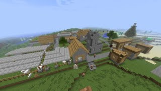 getlinkyoutube.com-【MineCraft】一級建築士を目指して!! 第5話 ~村の復興~ 【実況】