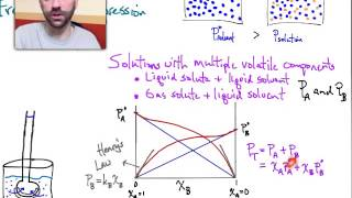 Raoult's Law II and Henry's Law