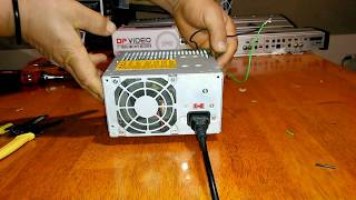 Como conectar auto estéreo a fuente de PC