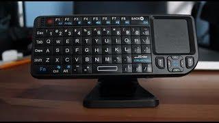 getlinkyoutube.com-USB.Brando Rii Mini Wireless Keyboard Review